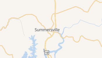 Summersville, West Virginia map
