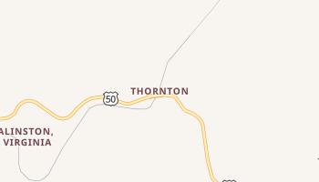 Thornton, West Virginia map