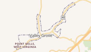 Valley Grove, West Virginia map