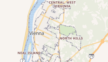 Vienna, West Virginia map