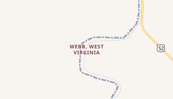 Webb, West Virginia map
