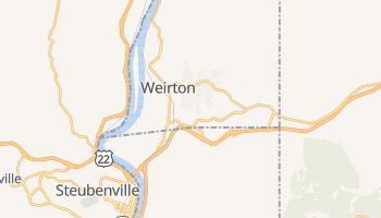 Weirton, West Virginia map