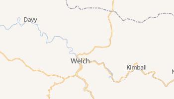 Welch, West Virginia map