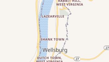 Wellsburg, West Virginia map