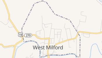 West Milford, West Virginia map