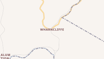 Wharncliffe, West Virginia map