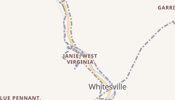 Whitesville, West Virginia map