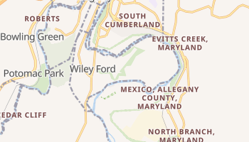 Wiley Ford, West Virginia map
