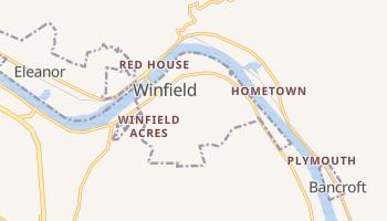 Winfield, West Virginia map
