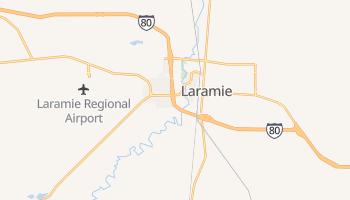 Laramie, Wyoming map