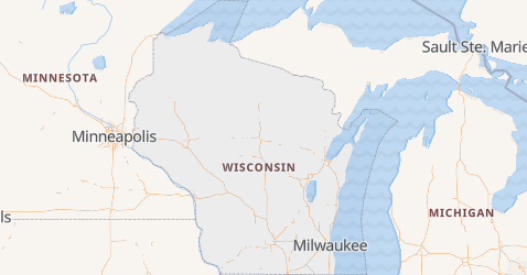 Wisconsin map