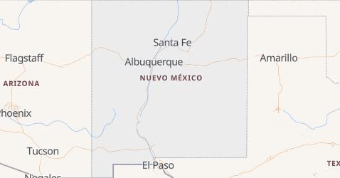 Mapa de Nuevo Mexico