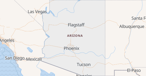 Carte de Arizona