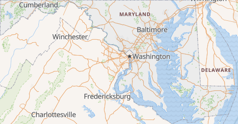 Carte de Maryland