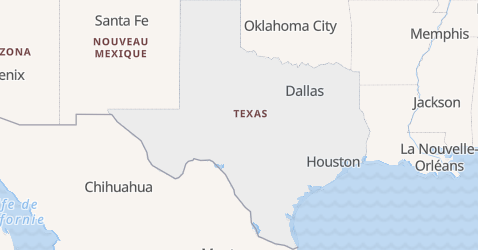 Carte de Texas