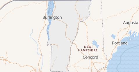 Carte de Vermont