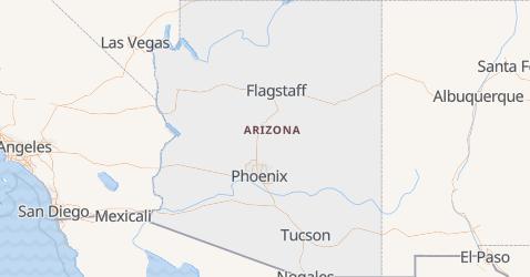Mappa di Arizona
