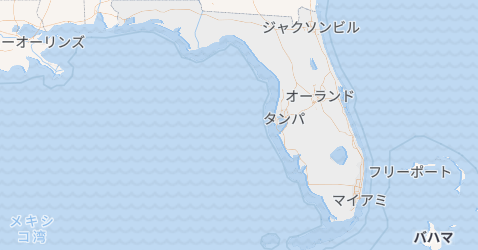 フロリダ州地図