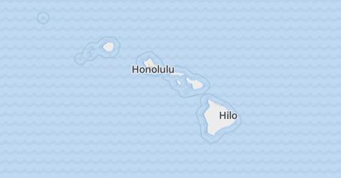 Hawaï kaart
