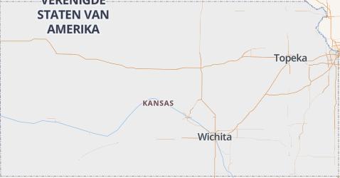 Kansas kaart
