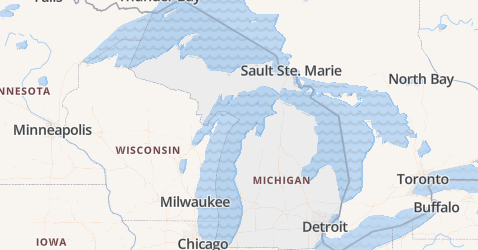 Michigan kaart