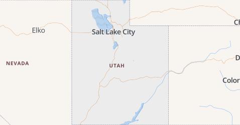 Utah kaart