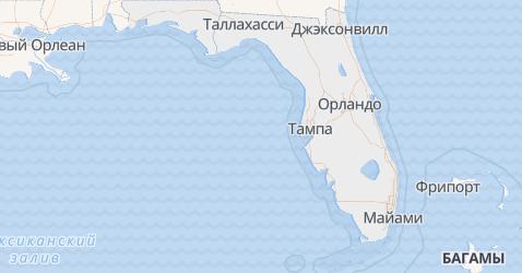 Флорида - карта