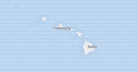 Гавайи - карта